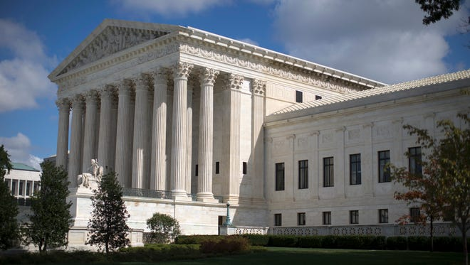 The Supreme Court appeared split Tuesday over the best way for states to draw election districts.