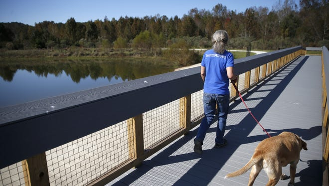 Okeeheepkee Prairie Park features boardwalks with scenic overlooks and bird-watching spots. Leon County officials held a grand opening for the park on Thursday.