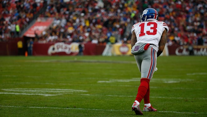 Odell Beckham and the Giants face the Miami Dolphins on Monday Night Football.