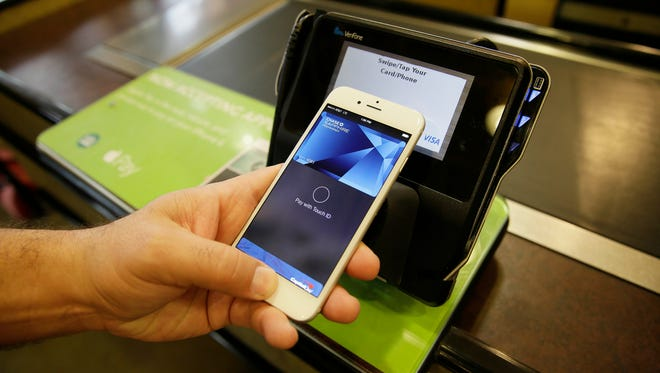 Apple Pay was one of  several mobile payment systems vying for shoppers in 2015