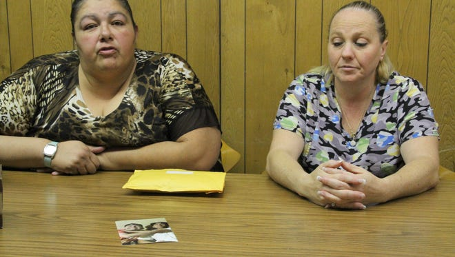 Mothers Anna Alcala and Yevalda Lynch are asking for the public's help with information about the fatal shooting deaths of their sons, Jonathan Garnand and Devone Blake on Nov. 2, 2014.