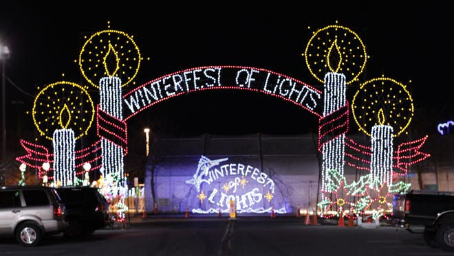 Winterfest of Lights fireworks show in Ocean City will be held Dec. 31, 2015 starting at 5:30 p.m.