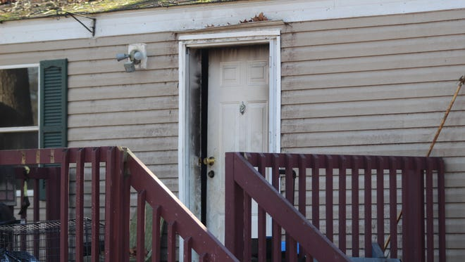 A family was displaced from their home on Britton Springs Road two days before Christmas after a fire broke out in the laundry room of the home.