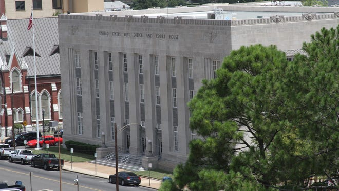 Federal courthouse on Jackson Street currently houses the downtown Monroe post office