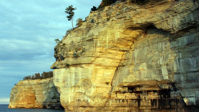 Pictured Rocks National Lakeshore in the Upper Peninsula had more visitors through November 2015 than in 2014 and saw double-digit increases in visitors.