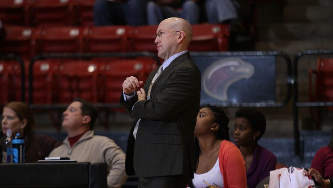 ULM coach Jeff Dow saw his team lose in its first game back from the Christmas break.