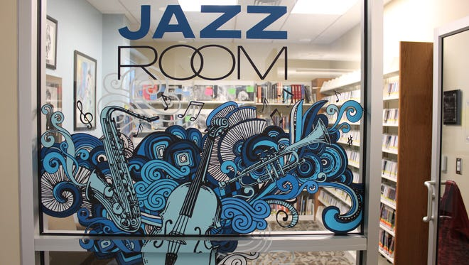 The Jazz Room, located on the second floor of the West Florida Public Library, on North Spring Street.
