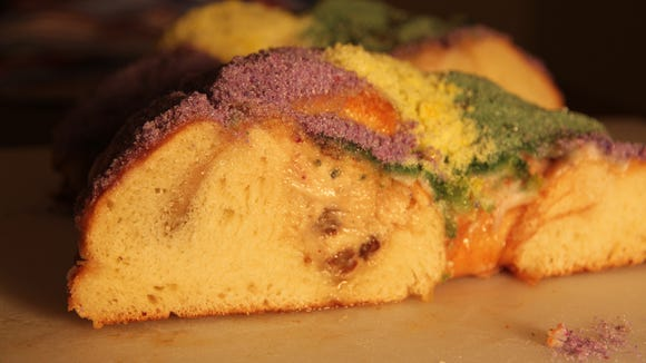 Whole Foods Market locations in south Louisiana offer a king cake that is notable for its fluffy colored sugar.