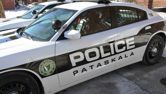 Pataskala police continue to investigate a single-car crash on Monday night that sent a man to an area hospital.