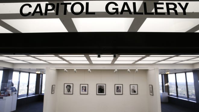 The Caitol Gallery on the 22nd floor of the building.