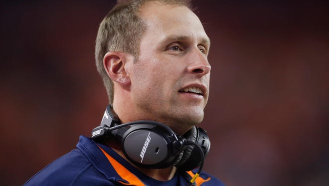 Chicago Bears offensive coordinator Adam Gase interviewed for the Eagles' head coaching job on Tuesday. He reportedly will interview with the Eagles again.