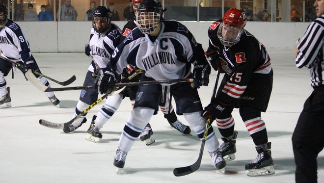 Rutgers and Villanova battled  in Saturday's Outdoor Classic at Naveskink Country Club.