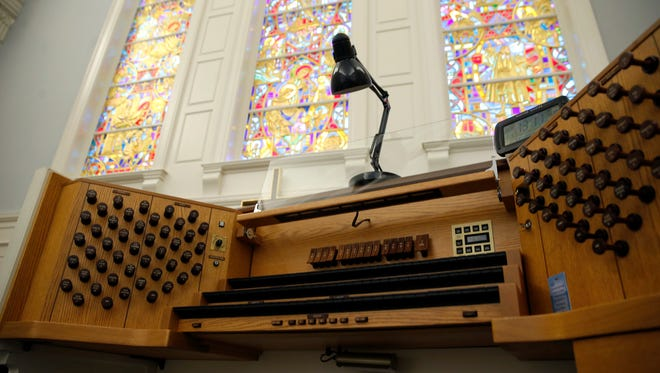 "Organists will perform all nine movements of Olivier Messiaen's ""The Nativity of Our Lord"" on Sunday, January 17."