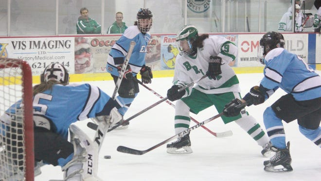 Michael (19) of Brick Township had two goals in Toms River East and Brick Township's 5-5 tie on Thursday.