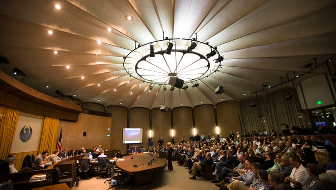 Phoenix City Council or hell's waiting room? Or both?