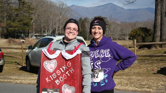 Run with your sweetheart at the Black Mountain Valentine 5K on Saturday, Feb. 13, at Lake Tomahawk.