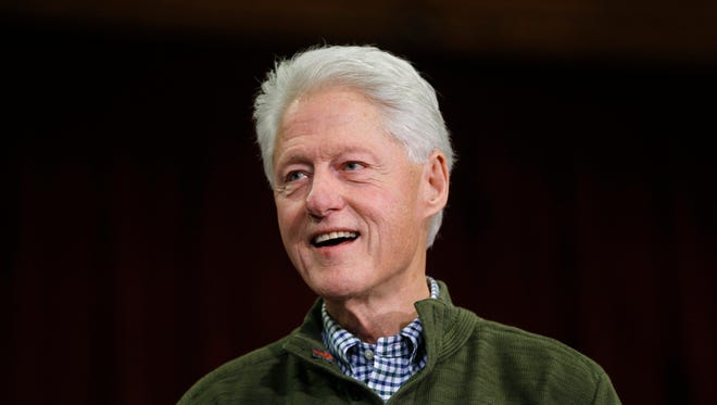 Former President Bill Clinton will campaign for his wife, Hillary, on May 20 in Sioux Falls.