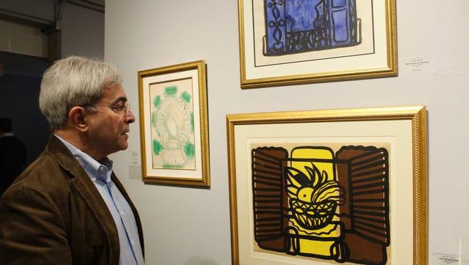 Fernandez shows the work of Amelia Pelaez, a Cuban painter of the 1920s era.