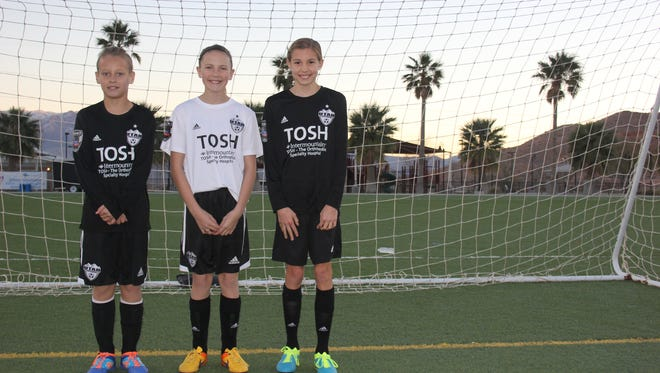 Three of Mesquite's finest soccer players were invited to an Olympic training camp in January to hone their soccer skills. The three were: