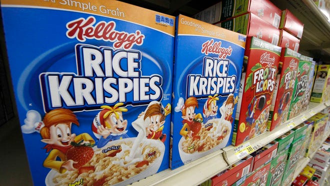 Kellogg says a criminal investigation is underway after a video surfaced online showing a man urinating on one of its factory assembly lines.