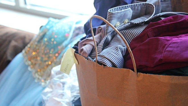 United Action for Youth's teen clothing drive gathered prom attire along with spring and summer clothing in March of 2016.