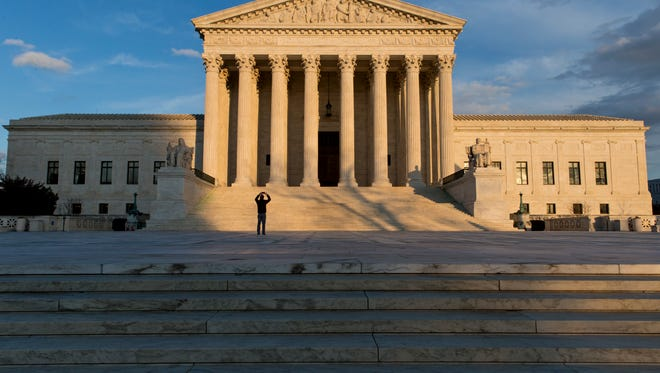 This Feb. 17, 2016, file photo shows the Supreme Court building in Washington.