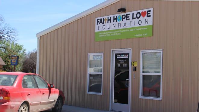 Faith, Hope, and Love Foundation's new office on 933 N. Canal St.