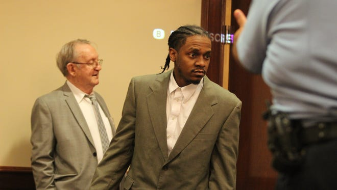 Alphonso Richardson and three others are facing trial this week in the 2014 death of Shirley Beck, 39.