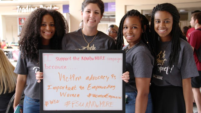 kNO MORE week seeks to educate the FSU campus on issues surrounding sexual violence.