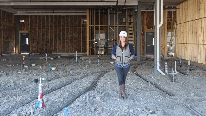 Mattie Jackson plans to open Salt & Vine in Sylvan Heights in June.