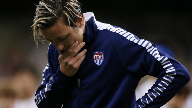 Abby Wambach was arrested early Sunday for DUI-Alcohol after she ran a red light in Portland, Oregon.