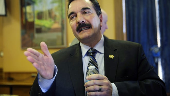 Assembly Speaker Vincent Prieto says he plans to introduce new legislation to establish benchmarks that Atlantic City would have to meet before the state could take over its finances.