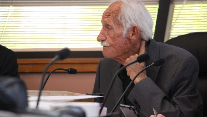 Glenn Collier, Eddy County commissioner, expresses concerns regarding public meetings.