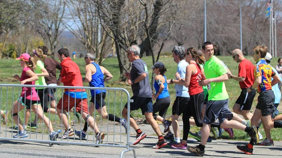 The 9th annual Greenway Challenge 5K/10K is April 9 at Pisgah Brewing Co. in Black Mountain