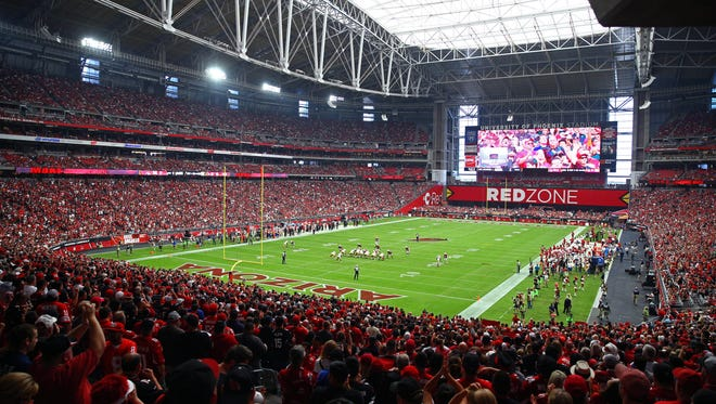 University of Phoenix Stadium, home of the Arizona Cardinals.