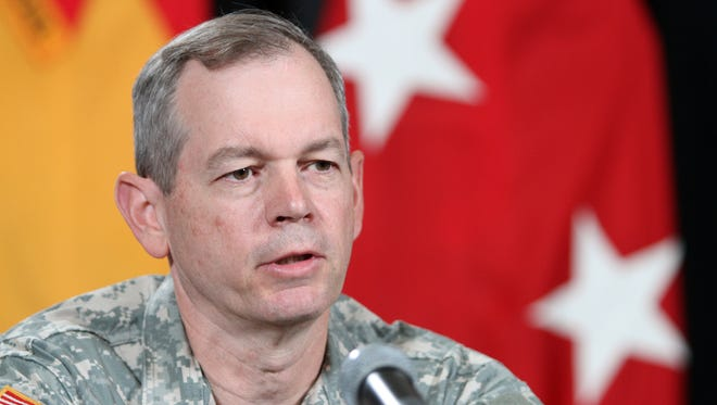 Lt. Gen. Sean B. MacFarland is retiring after 37 years of service. He was stationed four times at Fort Bliss including being commanding general from May 2013 to August 2014.