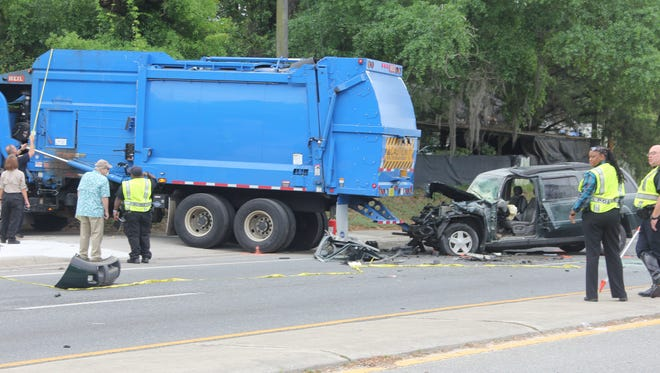 Harry Charles Scott was killed April 21 when he crashed his SUV into a city of Tallahassee garbage truck.