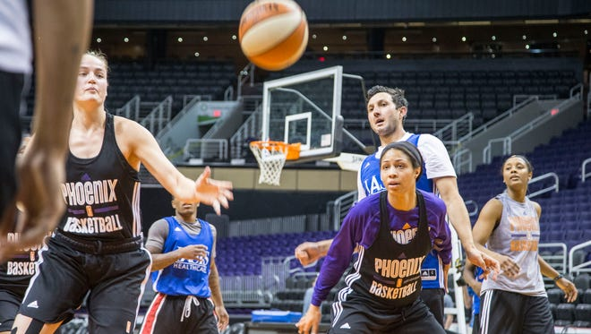 The Mercury opened training camp on Monday April 25, 2016, at Talking Stick Resort Arena in Phoenix.