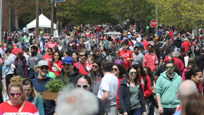 The annual Rutgers Day events, along with Ag Field Day and the New Jersey Folk Festival were held in and around Rutgers University campus on Saturday April 30, 2016.