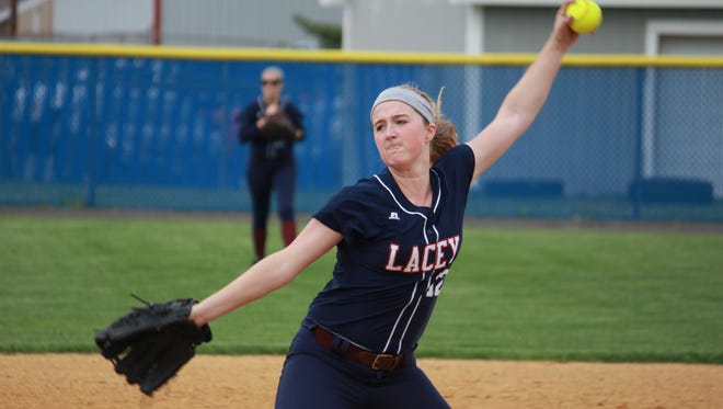 Chelsea Howard led Lacey to an 8-1 win over Toms River North Monday.