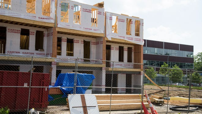 Cincinnati Children's Hospital Medical Center has contributed to construction of Hickory Place Townhomes in Avondale. Eight additional townhomes are under construction with the possibility of eight more being built at a later date.