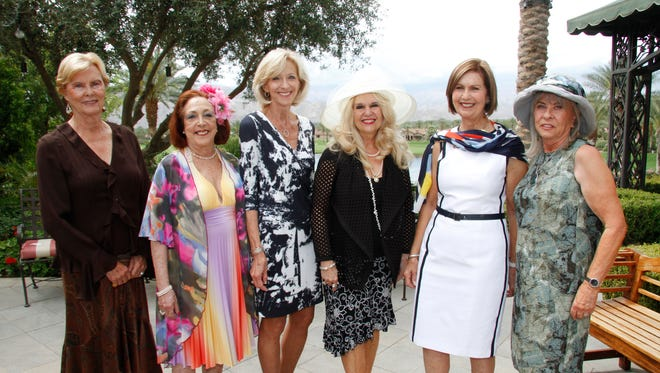 (L-R) 1) Sally Simonds, Jane Treacy, Marie Staudhammer, CJ Westrick-Bomar, Susan Linsk, Roberta Duke.