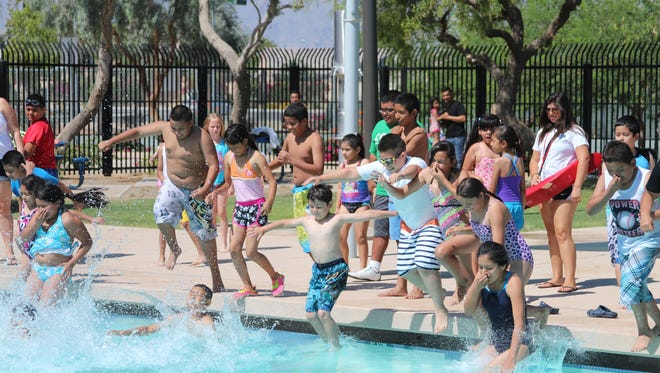 Hundreds of kids and their families took part in June 2014's Operation Splash at the Bagdouma Park and swim complex in Coachella. The Desert Recreation District offers many programs at Bagdouma Park.