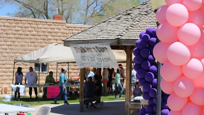 Parowan holds their second annual Walk for a Cure on Saturday, May 14, 2016.