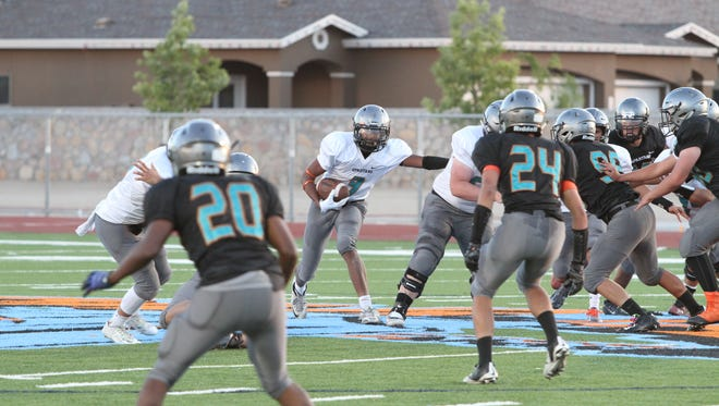 Pebble Hills Spartans host first varsity spring football game Wednesday at home.