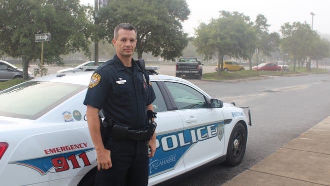 Tallahassee police investigator Scott Cherry