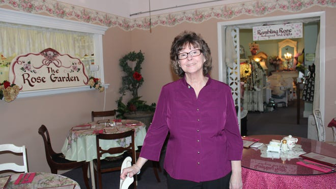 Joanne Austin is owner of the Rose Garden Tea Room & Gift Shop in Endicott.