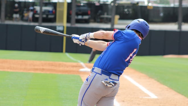 Louisiana Tech DH Jonathan Washam went 3-for-5 with two RBIs in Wednesday's 13-13 loss to Rice.