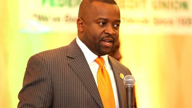 FAMU National Alumni Association President Lt/ Col. Gregory Clark.