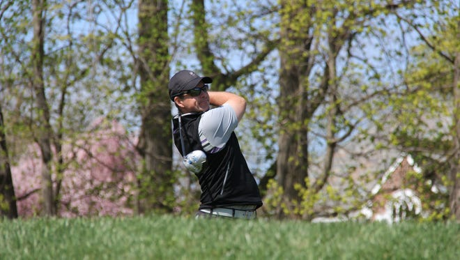 Paramount Country Club head pro Steve Scott carded a 5-under 65 and leads the POLO Golf Met PGA Head Professional Championship.